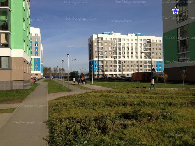 Address(es) on photo: Vilgelma de Gennina street, 32, 36, Yekaterinburg