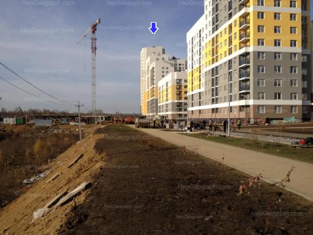 Адрес(а) на фотографии: улица Бориса Рябинина, 21, 25, Екатеринбург