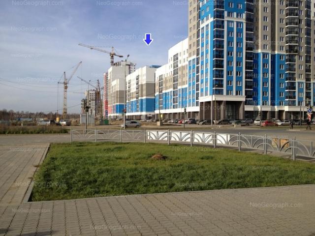 Address(es) on photo: Pavla Shamanova street, 36, 38, Yekaterinburg