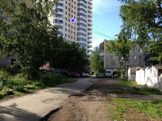 Адрес(а) на фотографии: улица Радищева, 57, 61, Екатеринбург