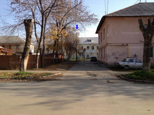 Адрес(а) на фотографии: Славянская улица, 25, 27, Екатеринбург