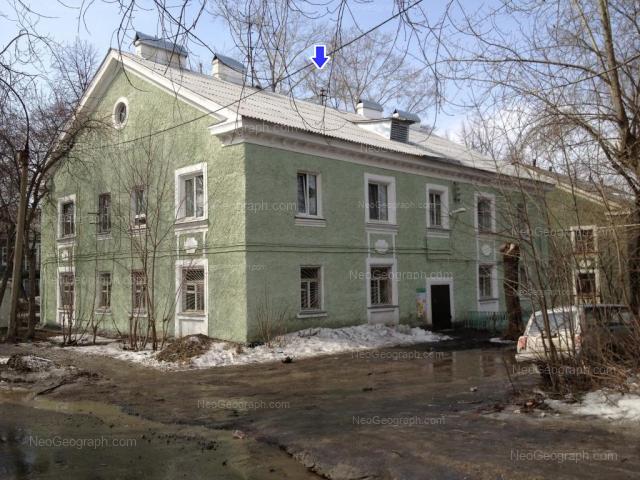 Адрес(а) на фотографии: Калиновский переулок, 1, Екатеринбург