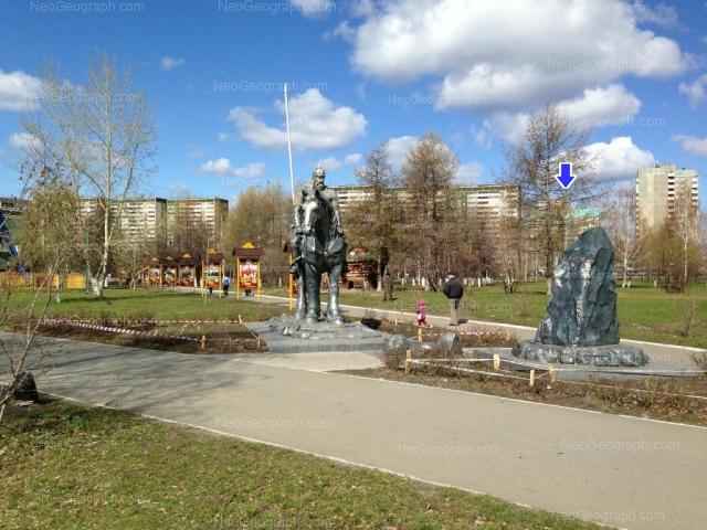 Address(es) on photo: Tavatuiskaya street, 1В, 1д, Yekaterinburg