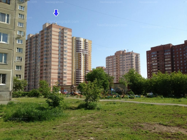 Address(es) on photo: Vilonova street, 22а, 24, 25, Yekaterinburg