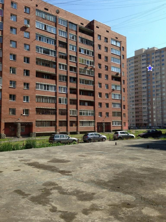 Address(es) on photo: Vilonova street, 22, 22а, Yekaterinburg