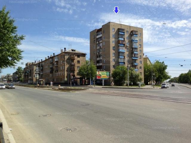 Адрес(а) на фотографии: Донбасская улица, 28, 32, 34, 36, Екатеринбург