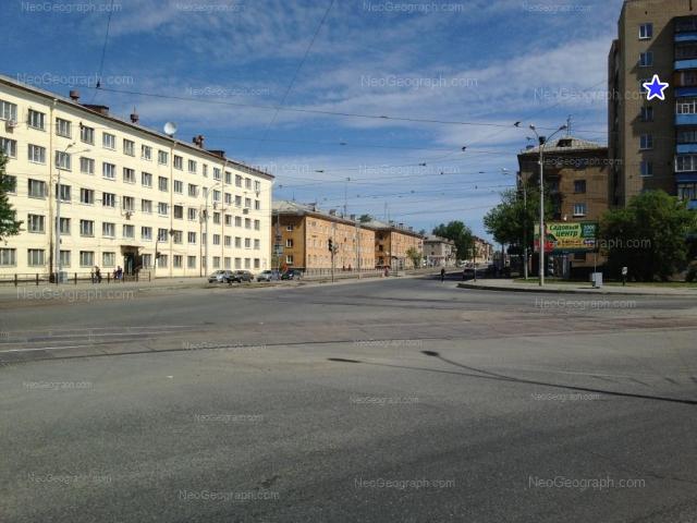 Адрес(а) на фотографии: Донбасская улица, 29, 31А, 33А, 34, 35, 36, Екатеринбург