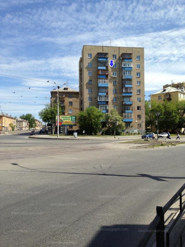 Адрес(а) на фотографии: Донбасская улица, 29, 31А, 34, 36, Екатеринбург