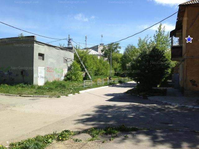 Адрес(а) на фотографии: Суворовский переулок, 14, Екатеринбург