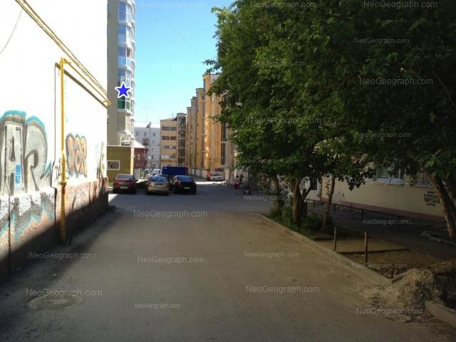 Адрес(а) на фотографии: улица Сакко и Ванцетти, 57, 57А, Екатеринбург