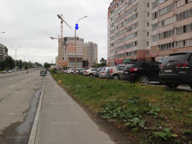 Адрес(а) на фотографии: улица Бакинских Комиссаров, 101, 107, Екатеринбург