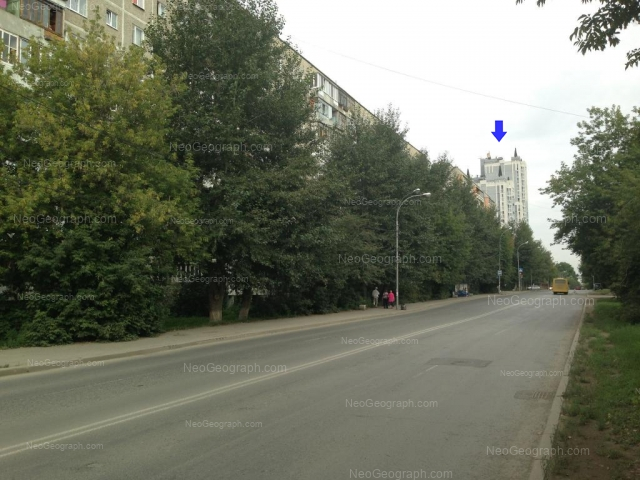 Адрес(а) на фотографии: Селькоровская улица, 36, 38, 60, Екатеринбург