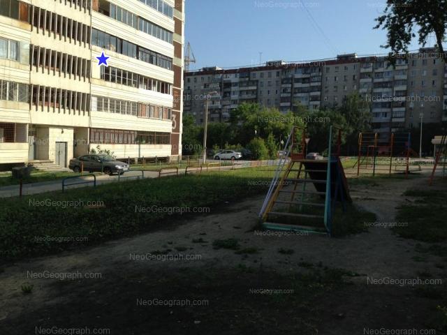 Адрес(а) на фотографии: улица Уральских Рабочих, 14, 23, Екатеринбург