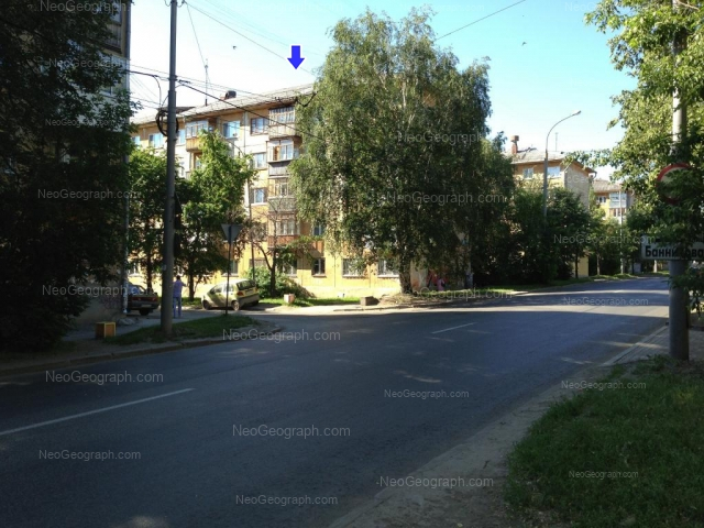 Адрес(а) на фотографии: улица 40-летия Октября, 28, 30, Екатеринбург