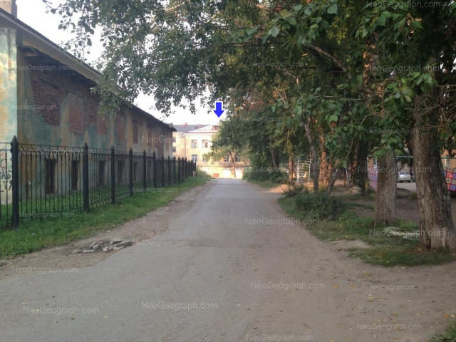 Address(es) on photo: Baumana street, 28, 28А, Yekaterinburg