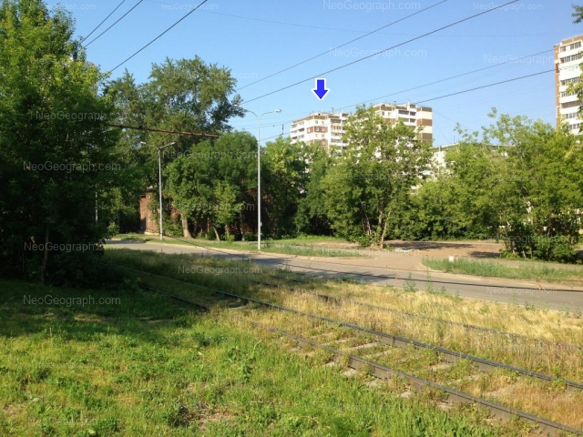 Address(es) on photo: Kalinina street, 6, 8, 10, Yekaterinburg