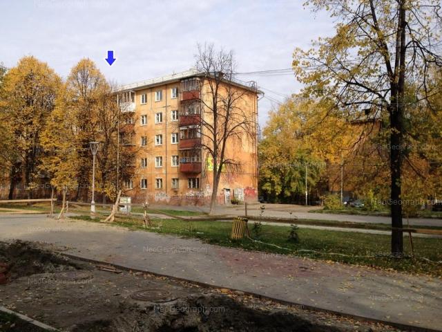 Address(es) on photo: Bulvar Kulturi boulevard, 12, 14, Yekaterinburg