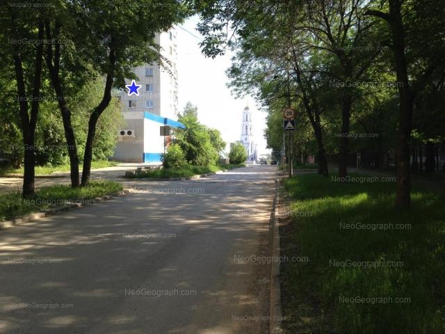 Address(es) on photo: Bulvar Kulturi boulevard, 25, Yekaterinburg