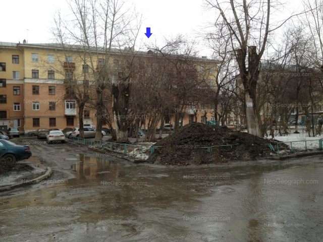 Address(es) on photo: Babushkina street, 20А, Yekaterinburg