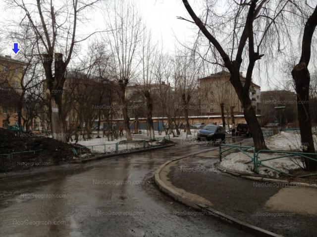 Address(es) on photo: Babushkina street, 18А, 20А, Yekaterinburg