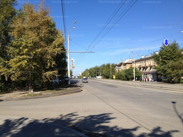 Address(es) on photo: Starikh Bolshevikov street, 8, 10, Yekaterinburg