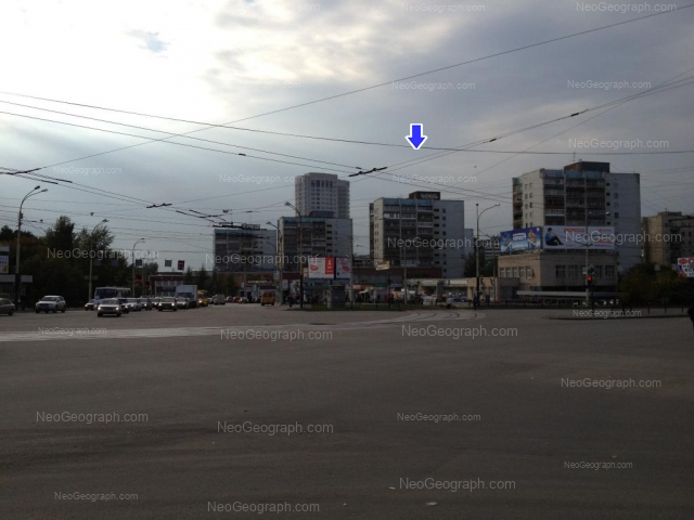 Address(es) on photo: Kuznetsova street, 2, 4, 6, 8, 10, Yekaterinburg