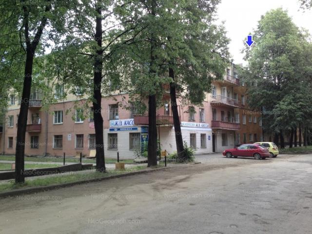 Address(es) on photo: Krasnikh Bortsov street, 5, Yekaterinburg
