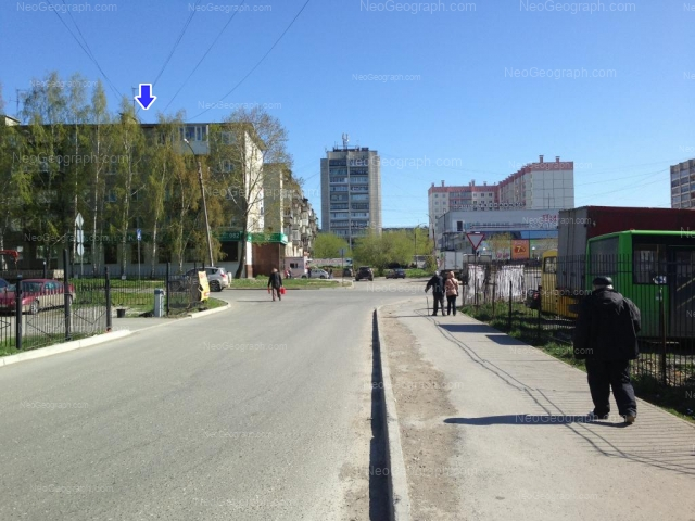 Address(es) on photo: Bilimbaevskaya street, 28, 30, 30а, Yekaterinburg