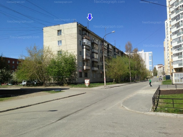 Address(es) on photo: Bilimbaevskaya street, 25/3, 29, 31/1, Yekaterinburg