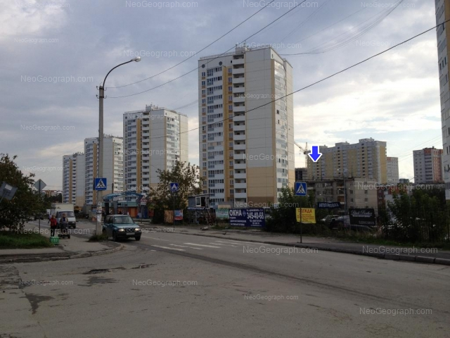 Address(es) on photo: Bilimbaevskaya street, 25/2, 25/3, 25/4, 27/1, 29, Yekaterinburg