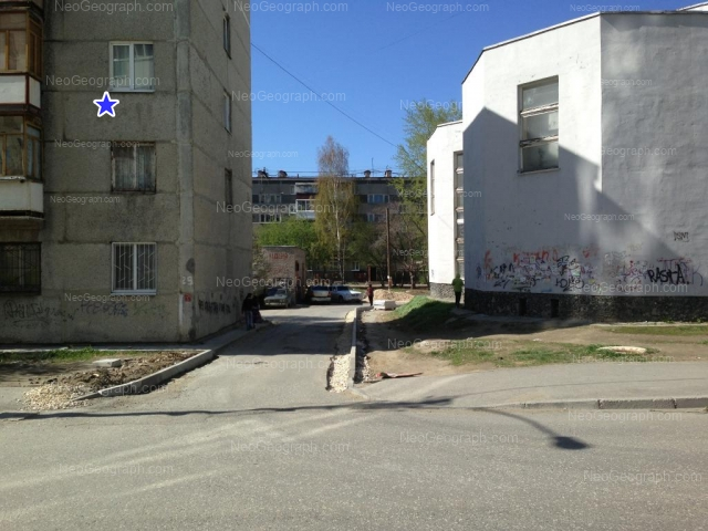 Address(es) on photo: Bilimbaevskaya street, 29, 31/2, 33, Yekaterinburg