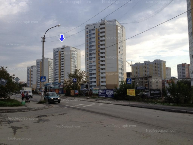 Адрес(а) на фотографии: Билимбаевская улица, 25/2, 25/3, 25/4, 27/1, 29, Екатеринбург