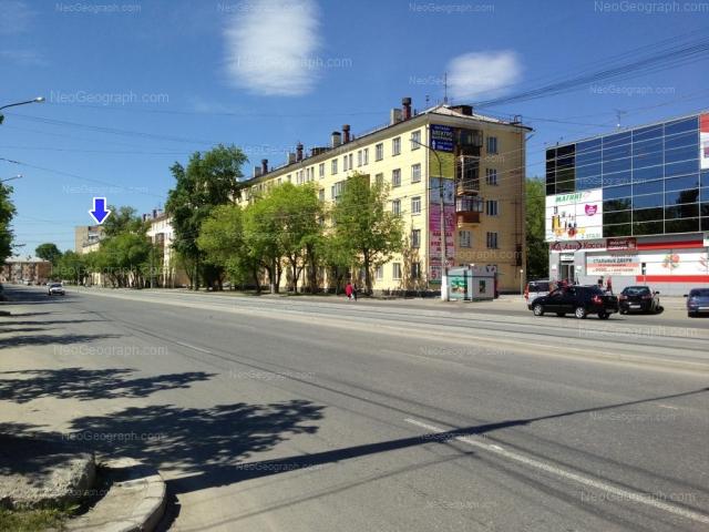 Адрес(а) на фотографии: улица Машиностроителей, 22, 24, 28, 32, Екатеринбург