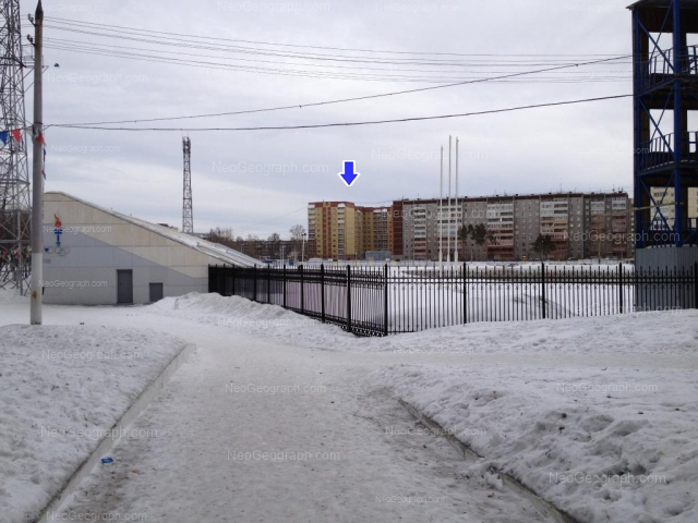 Адрес(а) на фотографии: Расточная улица, 18, 22, 24, Екатеринбург