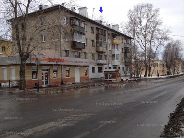 Адрес(а) на фотографии: Расточная улица, 29, 31, 33, 35, Екатеринбург