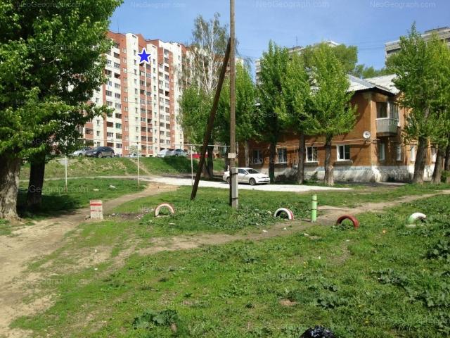 Address(es) on photo: Bebeliya street, 173А, 184, Yekaterinburg