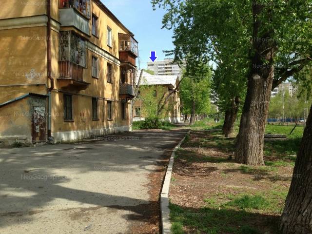 Адрес(а) на фотографии: улица Бебеля, 173А, 176А, Екатеринбург