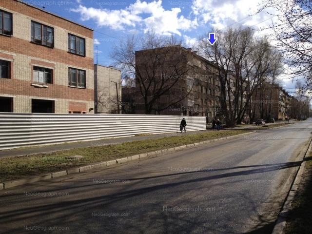 Address(es) on photo: Sortirovochnaya street, 12, 14, 16, Yekaterinburg
