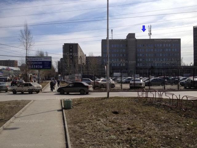 Address(es) on photo: Bebeliya street, 156, 160, Yekaterinburg