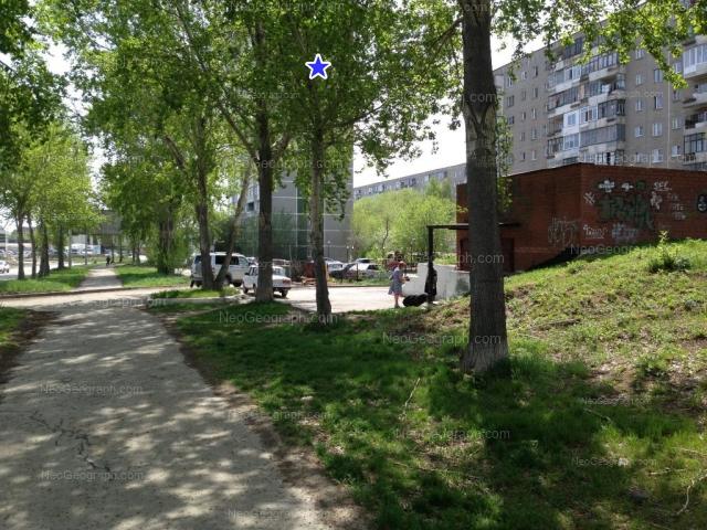 Address(es) on photo: Avtomagistralnaya street, 3, 9, 11, Yekaterinburg