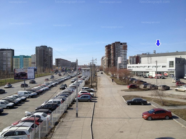 Address(es) on photo: Bebeliya street, 115, Yekaterinburg