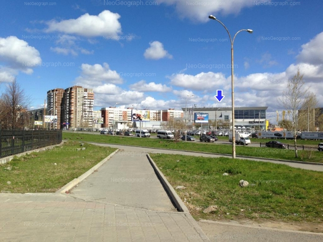 Address(es) on photo: Bebeliya street, 115, 117, 119, Yekaterinburg