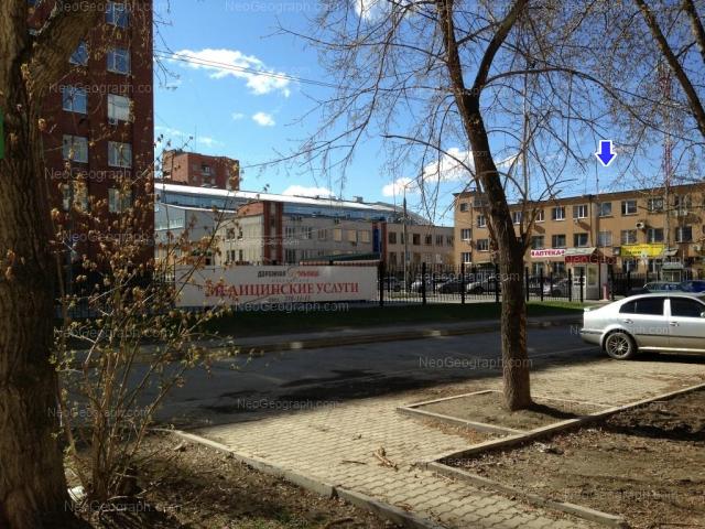 Address(es) on photo: Tekhnicheskaya street, 32, 32а, 34, Yekaterinburg