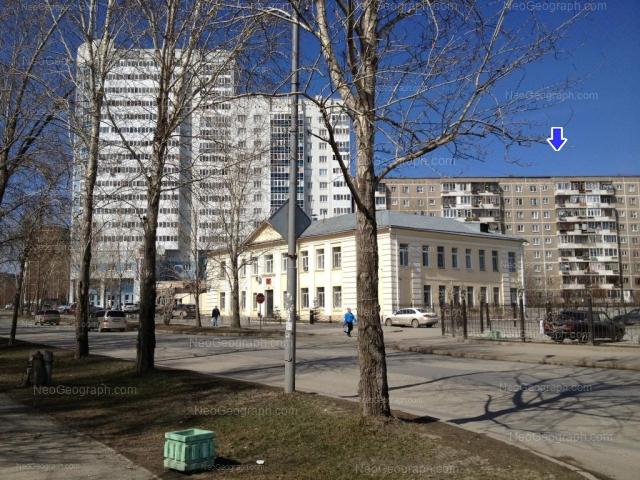 Адрес(а) на фотографии: улица Пехотинцев, 17, 21, 21а, 23, Екатеринбург