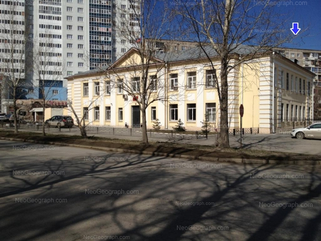 Адрес(а) на фотографии: улица Пехотинцев, 21, 21а, 23, Екатеринбург