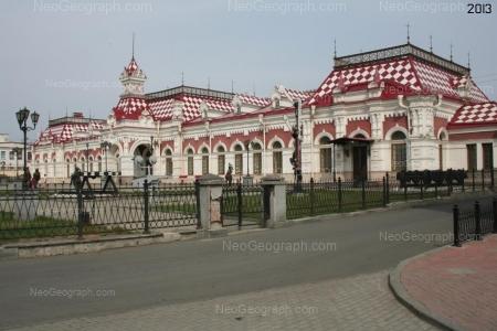 Музей истории, науки и техники Свердловской железной дороги. Фото сделано в 2013 году  -  Неогеограф