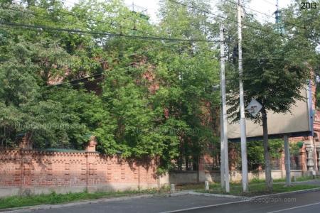 Старые дома Екатеринбурга. Дом Железнова. Фотография сделана в 2013 году. Екатеринбург. Россия